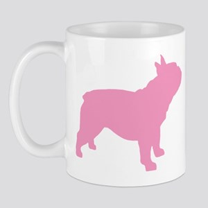 Pink French Bulldog Mug